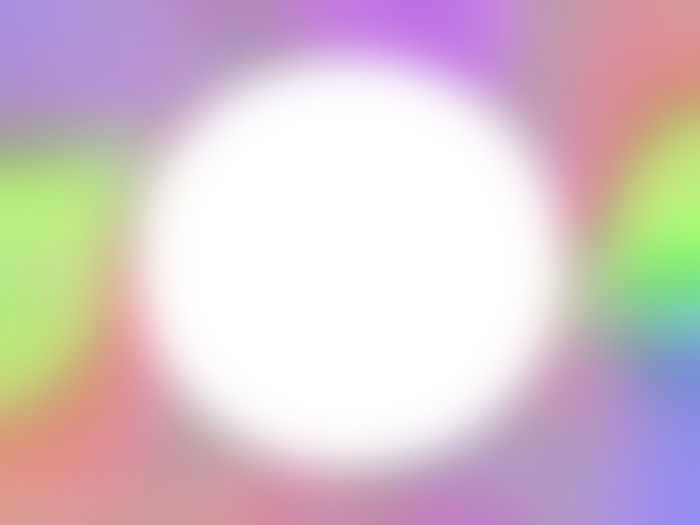 Defocused image of colored lights