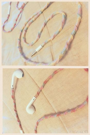 Handmade Apple EarPods Enjoying Life Hello World Check This Out