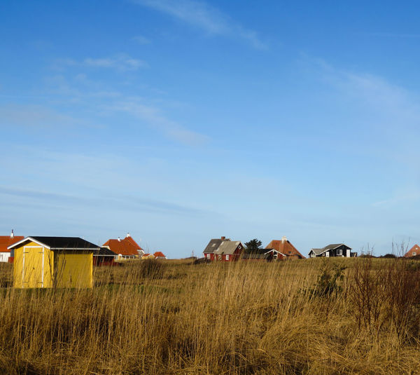 Holiday Homes Field Sky Landscape Architecture