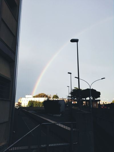 Raimbow in Roma :) Afterworkout