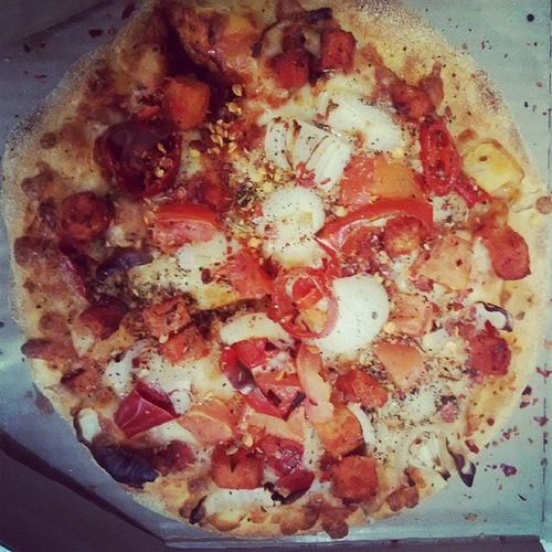 Today in italiano 101 : Mexicanpizza Newyorkpizaa