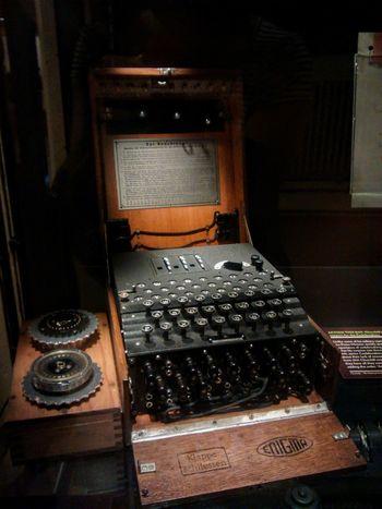 CodeBreakers Codebreaking Enigma Genious People Nazi Era Still Life Typewriter War World Wars