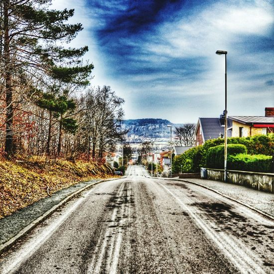 We are waiting for Spring to arrive. HDR Street View From Above