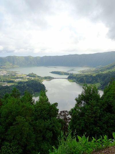 Azores Tree Water Lake Rural Scene Sky Landscape Cloud - Sky Grass Idyllic Scenics Tranquil Scene Countryside Lakeside