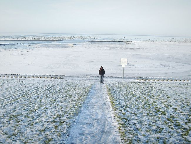 Wattenmeer Winter Winter Landscape Norddeich Sea View Deich  Meer Norddeich / Norden Am Meer Strand Ocean View Strandtag Sea Ocean Strandspaziergang Nature Hello World Open Edit OpenEdit