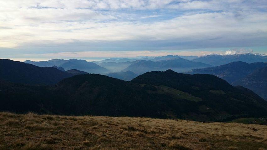 Mountains Panoramic Nature
