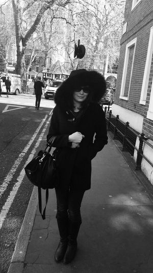 Just another day in soho... Blackandwhite Nocolour Check This Out Shadow Noir Blackandwhite Photography Portrait Women Fashion Autumn Beautiful London The Portraitist - 2016 EyeEm Awards The Street Photographer - 2016 EyeEm Awards The Photojournalist - 2016 EyeEm Awards Capture The Moment Iphoneonly Street Walking