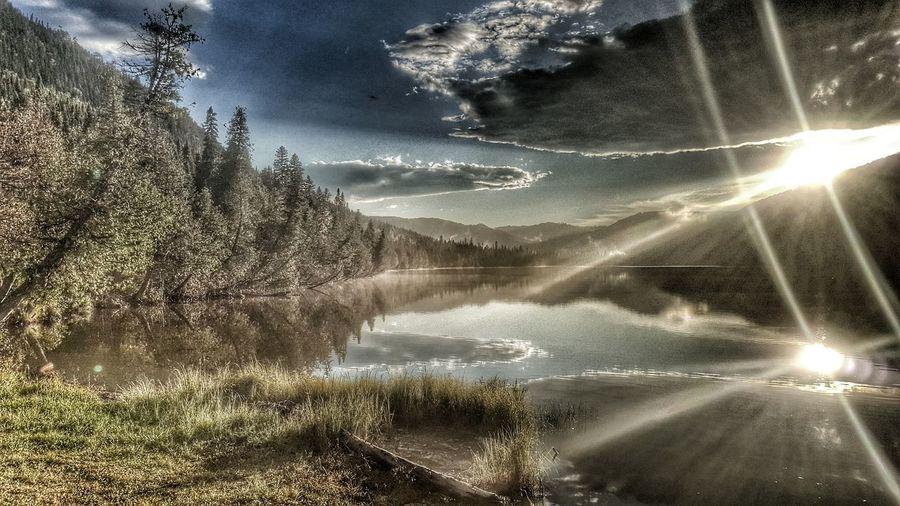 Two Is Better Than One Sunlight Water Lake Gaspesie Windtravellers Quebec EyeEm Best Shots Freeloader