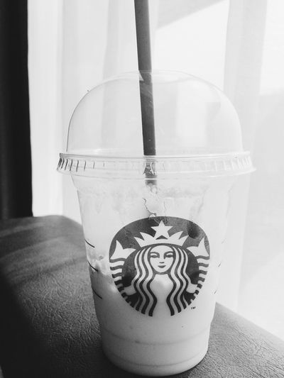Coffee Starbucks Caramel Black And White