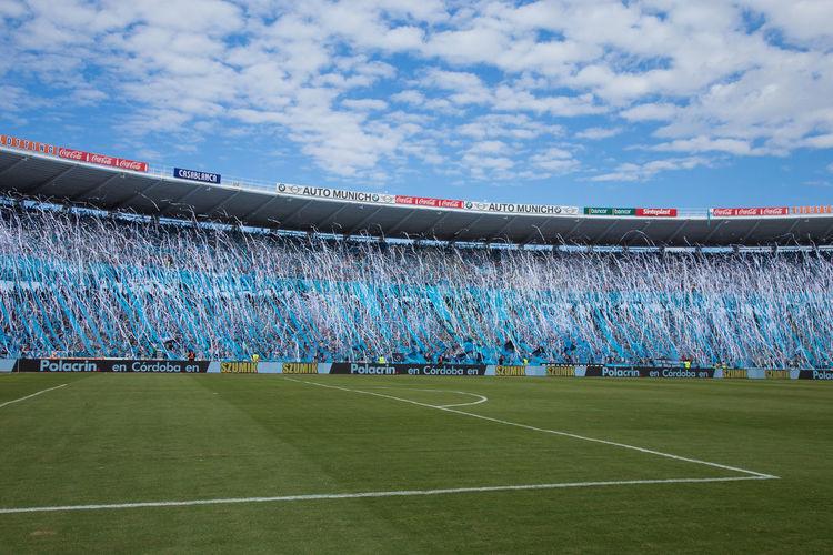 Belgrano Barrasbravas Belgrano De Córdoba Clouds Futbol Hinchadas Hinchas Recibimiento Sky Soccer