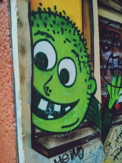 Graffiti Cool Dude