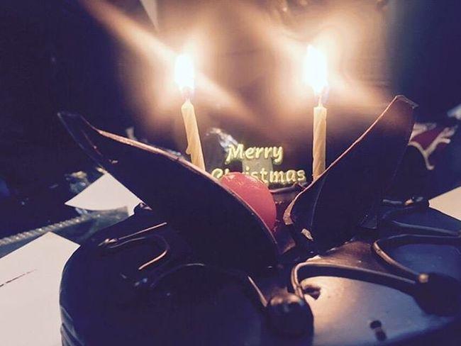 Merry Christmas Merryxmas MerryChristmas Christmas Shot Click Capture Geek Techie Techaddict Androgeek Iphonography Noandrography Bhavyawahiephotography ChristmasCake Chocolate