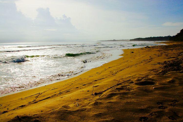 Sea Beach Evening Sky Emptyness Rust Sundown...♥