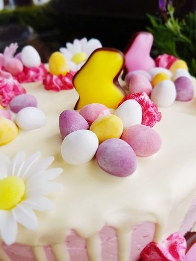 Easter Cake Easter Cake EyeEm Selects Sweet Food Candy Dessert Variation Food And Drink Indulgence Candy Store Food Multi Colored Unhealthy Eating Temptation No People Fruit Indoors  Ready-to-eat Close-up Freshness Day
