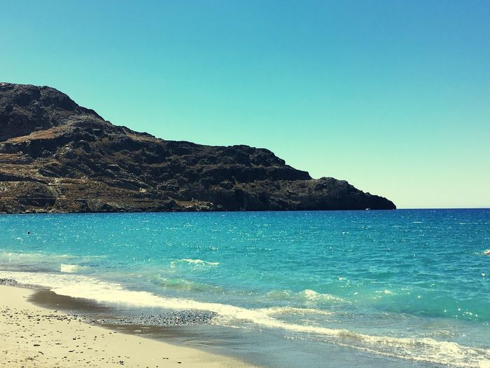 Seascape Beauty In Nature Watching The Sea Crete Greece Holidays Love The Sea Sea View Enjoying The Moment