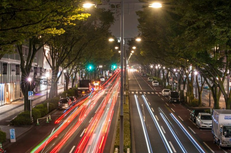 Fast pace in harajuku road, its halfway Harajuku Tokyo MeinAutomoment