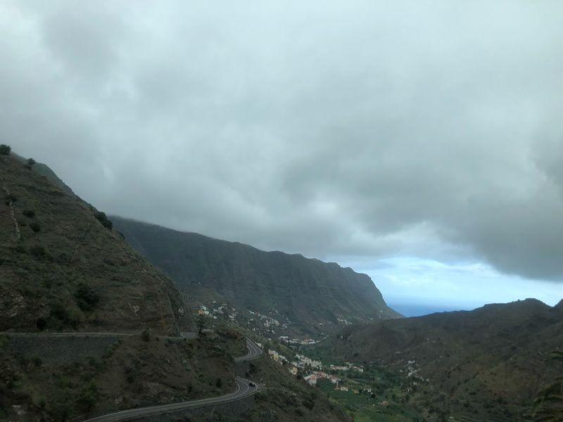 La Gomera. Mountain Cloud - Sky Sky Beauty In Nature Scenics - Nature Tranquil Scene Tranquility