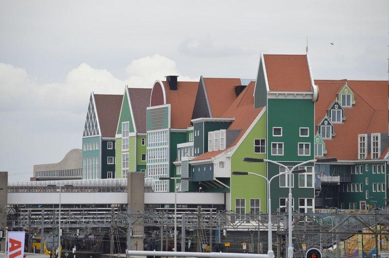 Zaanstad Built Structure Architecture Residential District Building Cloud - Sky House Apartment
