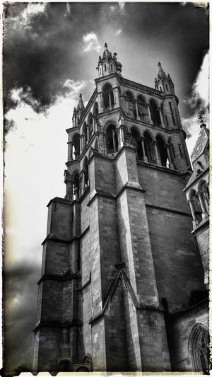 Taking Photos Cathedral Monochrome Swiss