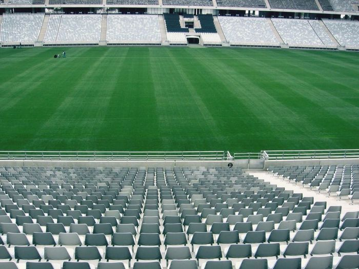 Stadium Green Point Stadium South Africa Soccer Perspective Green Grass