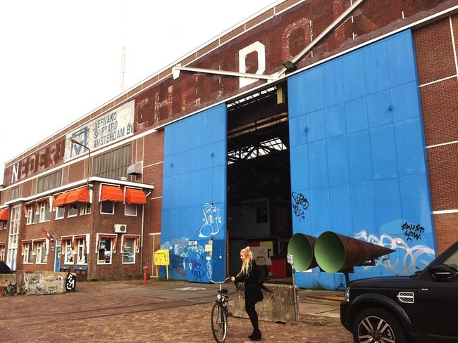 Capture The Moment Shipyard Amsterdam Bicycle Building Abandoned Buildings Art Coworking The Moment - 2015 EyeEm Awards EyeEm Best Shots