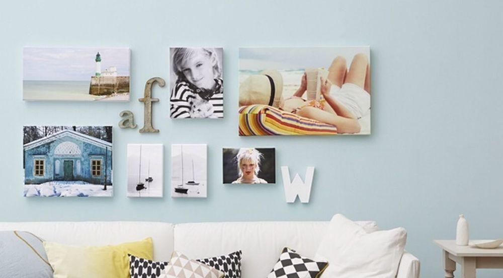 Walldecoration Wallart Photocollage