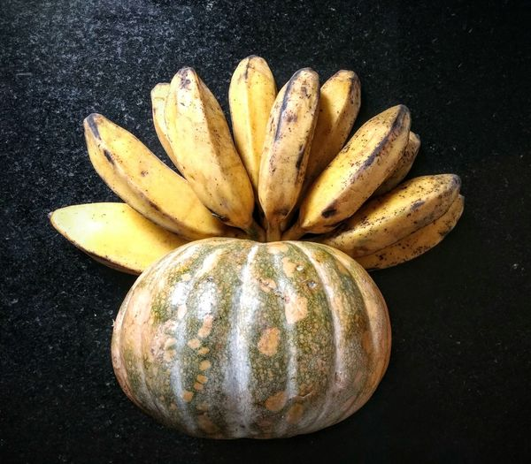 Punk pumpkins Eyeem Market Pumpkin Moranga Food Photography Black Background Yellow Close-up Food And Drink Banana Squash - Vegetable Still Life