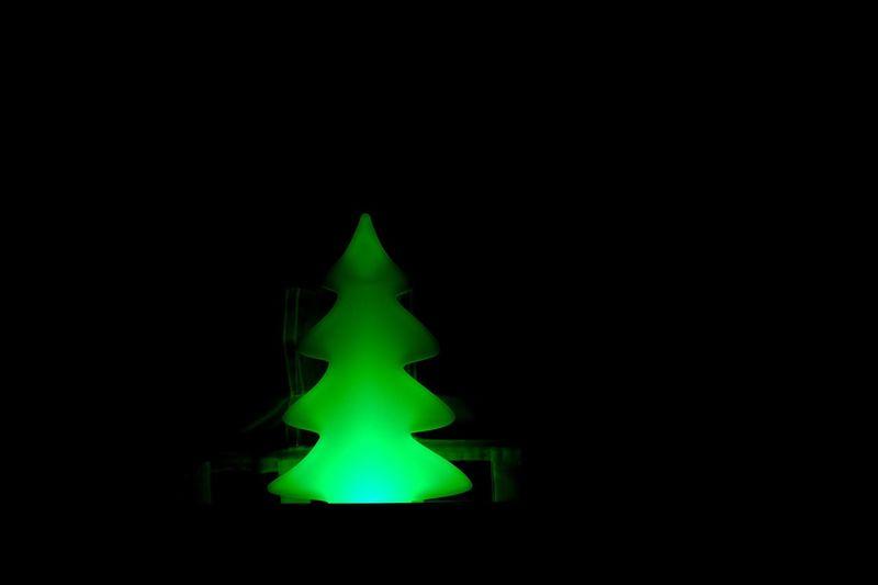 Oh Christmas tree Christmas Decoration Christmas Tree Tree Night No People Copy Space Black Background Illuminated Close-up