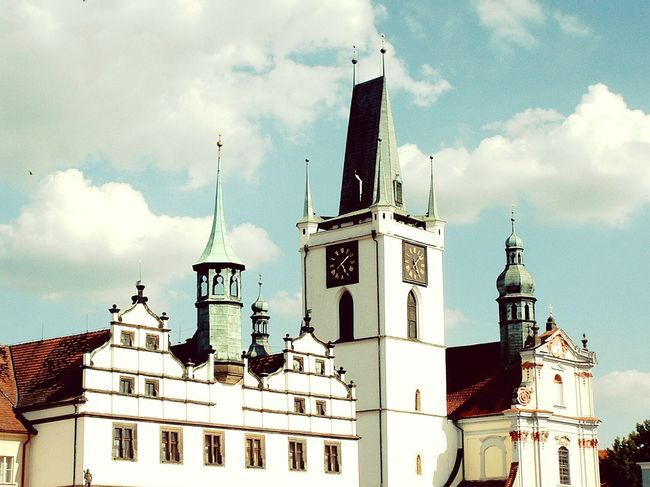 Medieval Town Litoměřice Town Main Square Old Outdoor Photography Old Buildings Architecture Architecture_collection Historical Building Historical Place