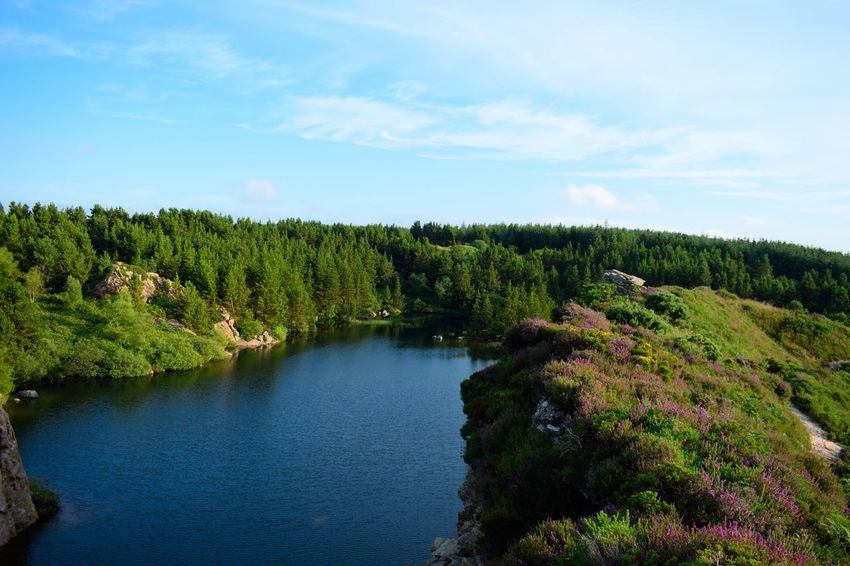 Beauty In Nature Beuty Ireland Lake Nature No People Quarry Scenery Sky