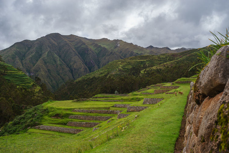 Anden Art Chinchero Culture Cusco History Inca Landscape Old People Peru Pisac Ruins Sacred Valley South America Traveling Landscapes With WhiteWall The KIOMI Collection