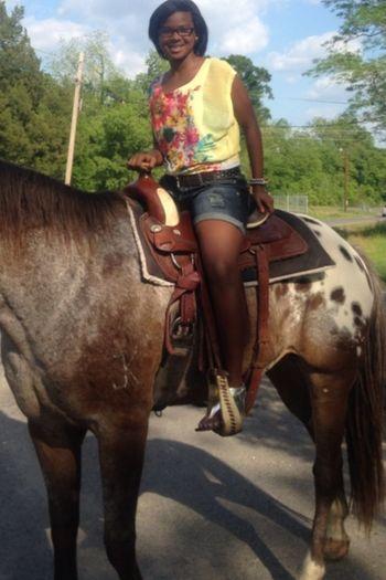Riding horses .!!
