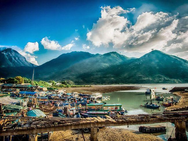 HongKong Lantau Island Countryside Hills FishingVillage Olympus Xz-2