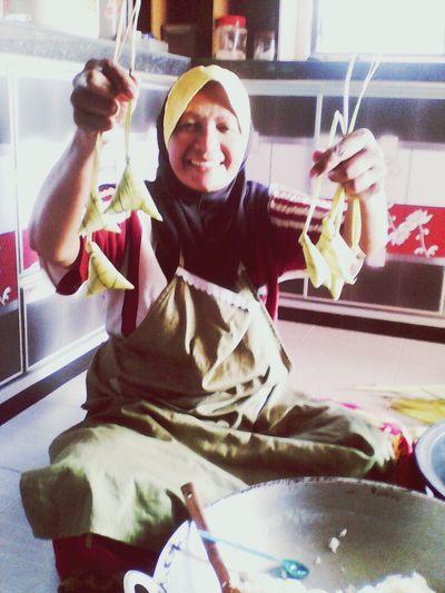 Ketupat palas|pulut Rayaaidiladha Malaysian Food Traditionalfood Malayculture