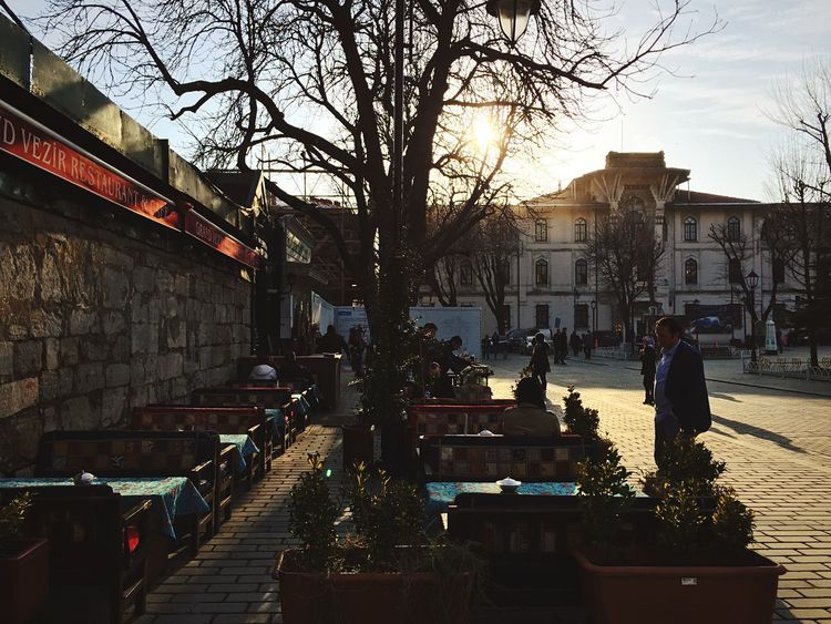 Cafe Tea Time Turkey Winter Sun People Street Open Edit