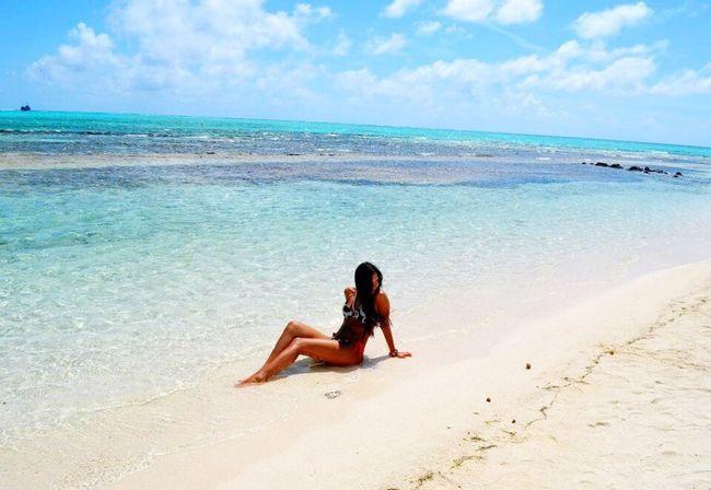 Summer Summertime Sea Paradise Paradise Beach Portrait VSCO Vscocam Livenow Liveforadventure Sky Beach Beautiful Nature