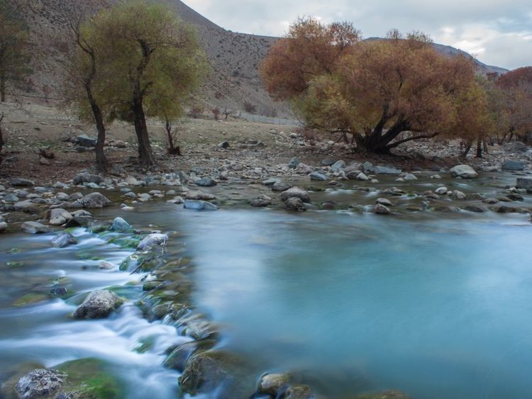 Jajrood Landscape No People Beauty In Nature Outdoors Tree 700D Tehran River Traveling Beauty In Nature Cold Travelphotography