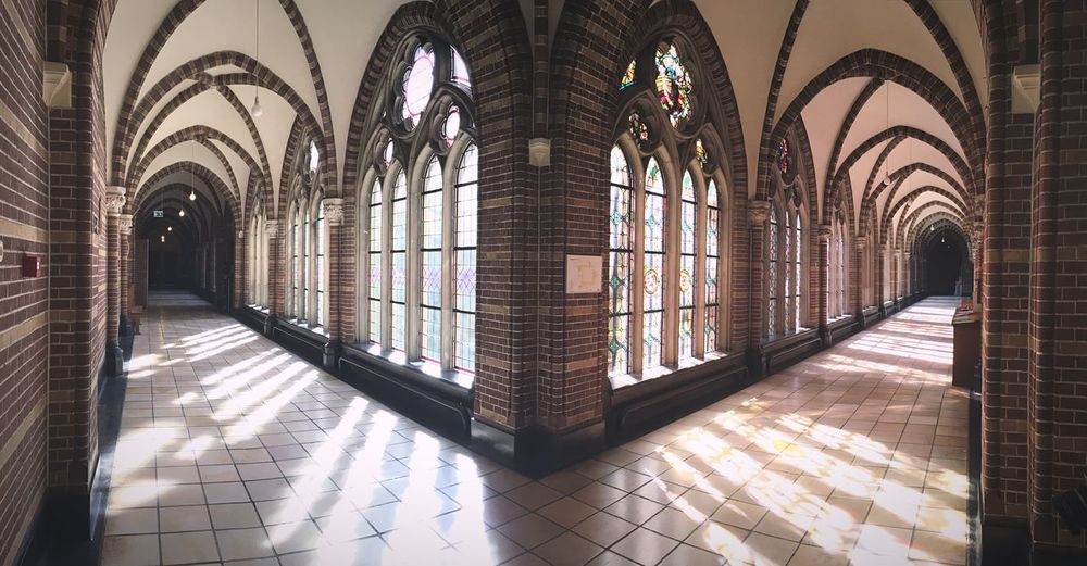 Hallway Dominikanenkerk Zwolle Hallway Hallways Window Windows Kerk Church