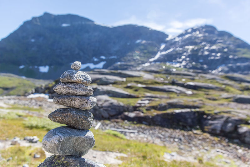 Balance Beauty In Nature Day Environment Focus On Foreground Landscape Mountain Mountain Peak Mountain Range Nature No People Non-urban Scene Outdoors Pebble Rock Rock - Object Scenics - Nature Solid Stack Stone - Object Tranquil Scene Tranquility Zen-like
