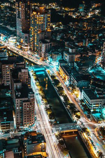 Keelung Taiwan. Night streetUrban Urban Exploration Urbanexploration City City Life EyeEm Best Shots EyeEm Gallery The Great Outdoors - 2017 EyeEm Awards The Architect - 2017 EyeEm Awards The Street Photographer - 2017 EyeEm Awards EyeEmNewHere Street Rooftop Taiwan Night EueEmNewHere Urbanphotography