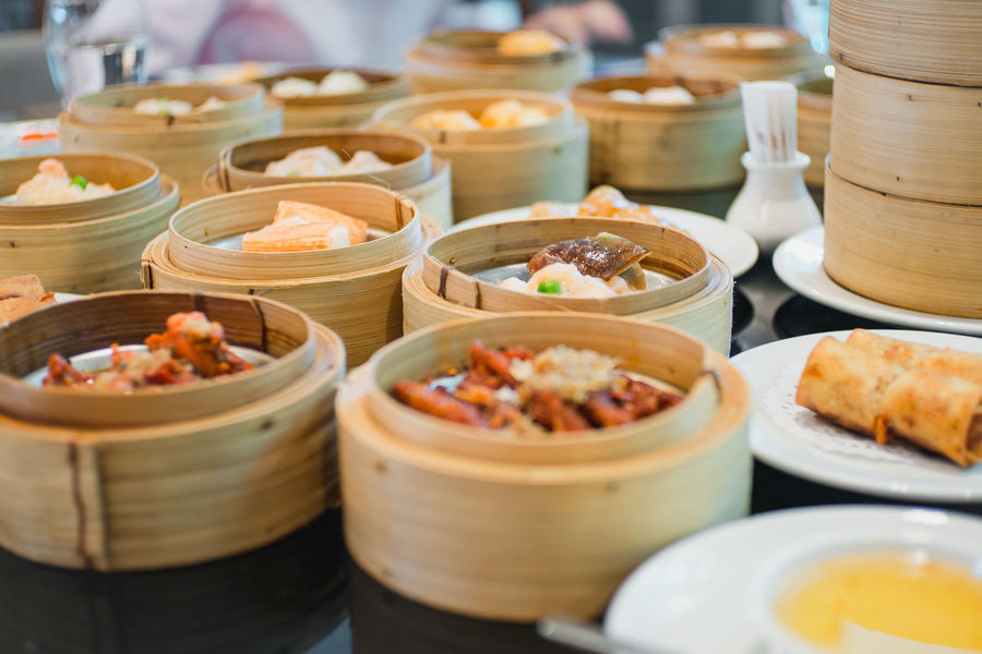 DimSum!!! Abundance Appetizer Bowl Choice Close-up Cooked Dish Food Food And Drink Freshness Gourmet Healthy Eating Healthy Lifestyle In A Row Indoors  Large Group Of Objects Main Course Meal Plate Ready-to-eat Retail  Selective Focus Serving Dish Serving Size Variation