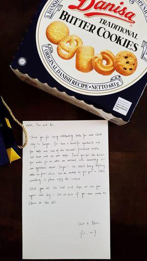 Letter my friend