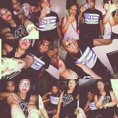 This is a Superlatepost TBT  from justyns kickback aha $nakes le babies ;)