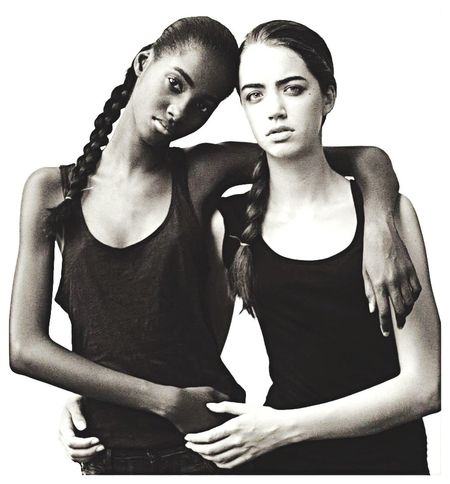 Tami and Anastacia/nyc Womens Portraiture NewFace Wow😊 Elitemodels NEXT Models Tanktops Calvin Klein Black And White Braids Canonphotography The Portraitist - 2016 EyeEm Awards