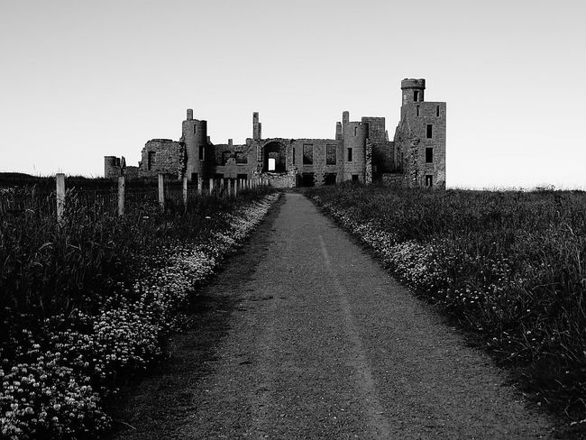No People Architecture Ancient Civilization King - Royal Person History Scotland Mystical Travel Destinations Lost Souls  Mystery EyeEm Best Shots Mystery Place EyeEmNewHere Slains Castle Cruden Bay Light And Shadow Lost In The Landscape Black And White Friday