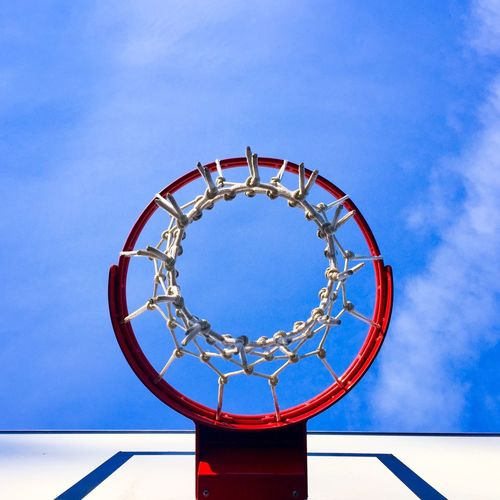 Basketball ring Circle Look Up! Lookingup Basketball Ring Blue Sky Basket Basketball ❤ Sports Equipment Sport In The City Basketball Ring Basketball - Sport Circle Basketball Hoop Geometric Shape Sport Blue Shape Net - Sports Equipment Sky Day No People Low Angle View Directly Below Nature Outdoors Cloud - Sky Architecture Copy Space Activity A New Perspective On Life