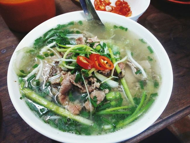 My Breakfast Pho Beautiful Hanoi
