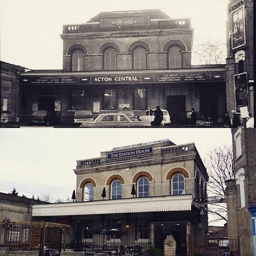 Once a station now a pub Acton Actoncentral StationHouse Pub Boozer Booze London Beer