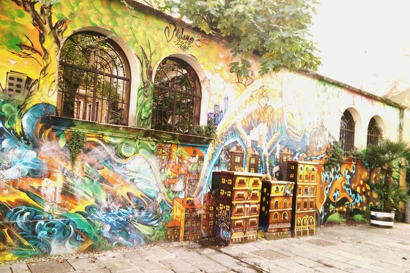 Zam Centrosociale Milan Streetart Urbanphotography Colors Murales