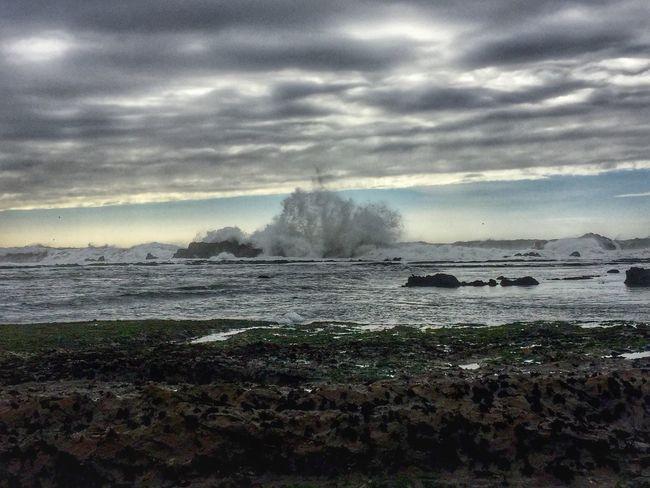 Water Sea Wave Beachphotography Beach Beach Photography Clouds And Sky